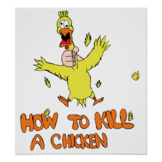 How to Kill a Chicken Poster
