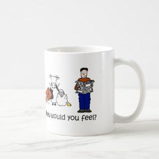 How would you feel basic white mug