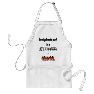 How would you like your steak prepared? standard apron