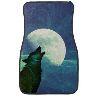 Howling Moon Car Mat