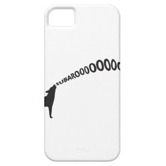 Howling Subaru Dog Barely There iPhone 5 Case