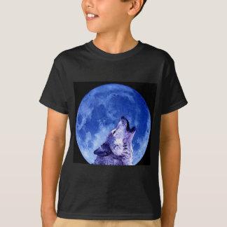 Howling Wolf at Moon T-Shirt