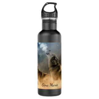 Howling Wolves 710 Ml Water Bottle