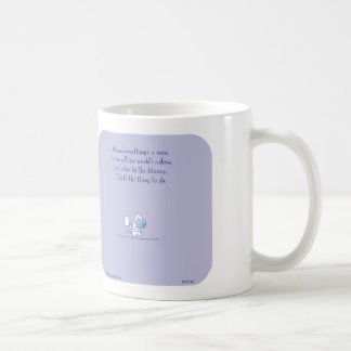"HP2149 ""Harold's Planet"" mess read library toilet Coffee Mug"
