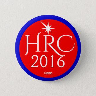HRC, Hillary Rodham Clinton 2016 6 Cm Round Badge