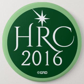 HRC, Hillary Rodham Clinton 2016 Green Party 6 Cm Round Badge