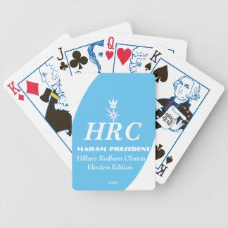 HRC Madam President Hillary Rodham Clinton Card Deck