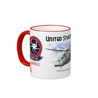 HSC-28 Dragon Whales -   Helicopter Sea Combat Sq. Coffee Mugs