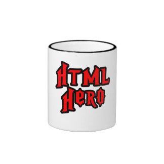 HTML Hero Ringer Mug