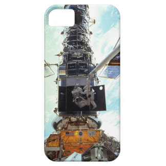 Hubble Space Telescope and astronauts iPhone 5 Case