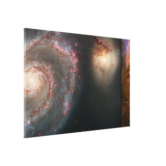 Hubble's 15th Anniversary Images of the Whirlpool Canvas Print