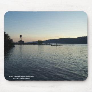 Hudson River at Dusk Mousepad