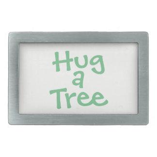 Hug a Tree Belt Buckle