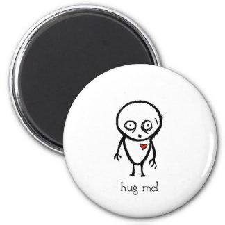 hug me 6 cm round magnet