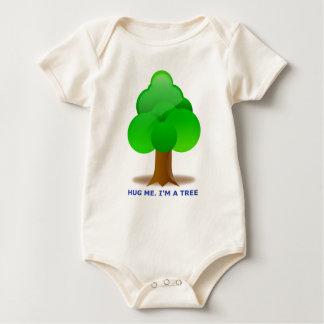 HUG ME. I'M A TREE! BABY BODYSUIT