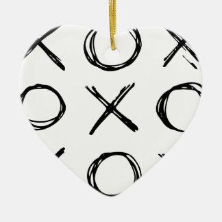 Hugs and Kisses XOXO Christmas Ornament