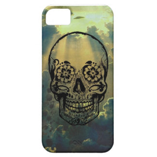 Hull iphone 4 sky & skull iPhone 5 case
