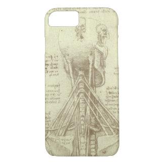 Human Anatomy Spinal Column by Leonardo da Vinci iPhone 8/7 Case