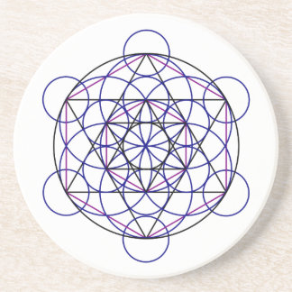 Human Merkaba Energy Field from our 7 Chakras Coaster