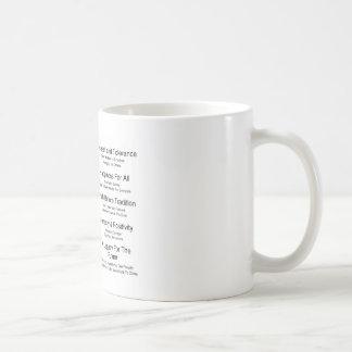 Humandments Basic White Mug