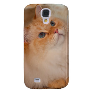 Humane Society cat Galaxy S4 Case