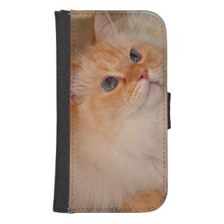 Humane Society cat Samsung S4 Wallet Case