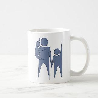 Humanist Family Basic White Mug