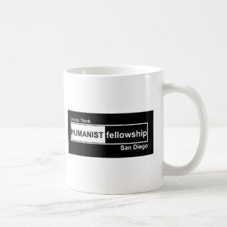 Humanist Fellowship Black and White Mug