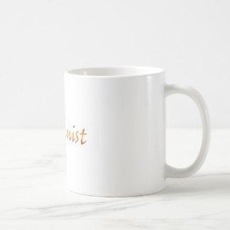 Humanist Gold Basic White Mug