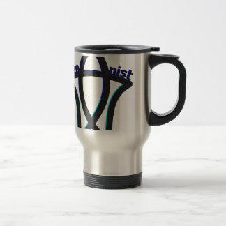 Humanist Symbol Stainless Steel Travel Mug