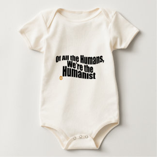 HumanistBlack.png Baby Bodysuit