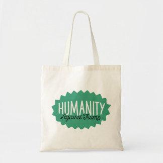 Humanity Against Trump Tote Bag