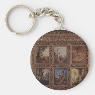 Humanity: The Golden Age depicting three scenes Key Ring