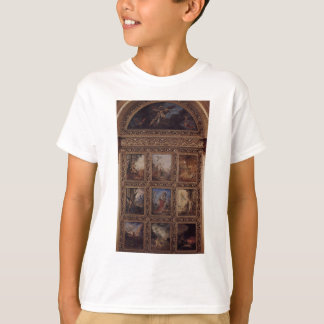 Humanity: The Golden Age depicting three scenes T-Shirt
