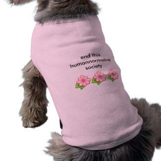 humannormative dog shirt