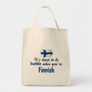 Humble Finnish Tote Bags