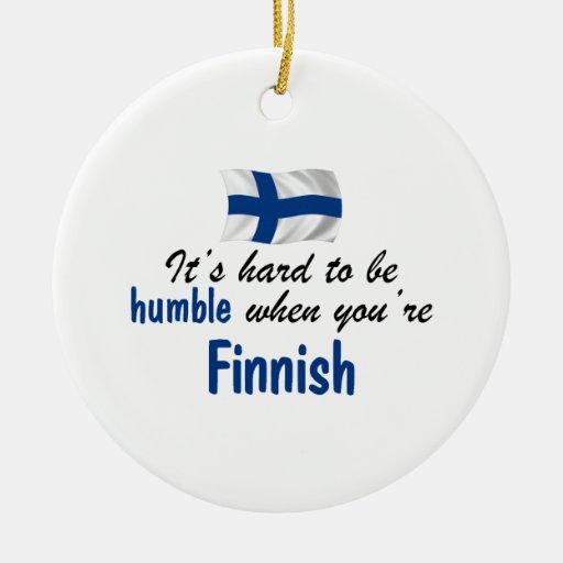 Humble Finnish Christmas Ornaments