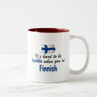 Humble Finnish Two-Tone Coffee Mug