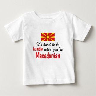 Humble Macedonian Baby T-Shirt