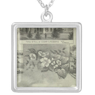 Humboldt, Kansas Silver Plated Necklace
