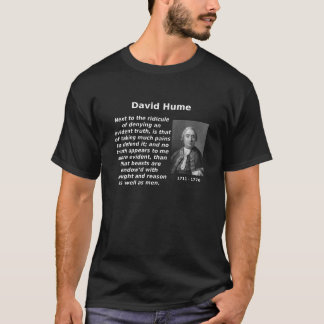 Hume, Animals with Reason T-Shirt