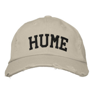 Hume Embroidered Hat