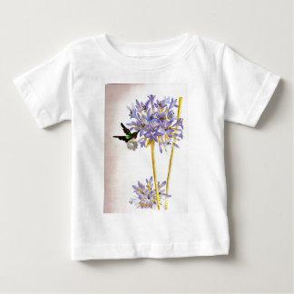 Hummingbird and Flowers Baby T-Shirt