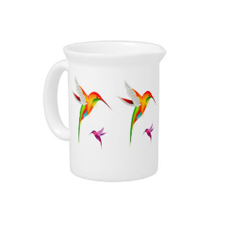 Hummingbirds Pitcher