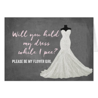 Humor Bride | Bridesmaid Note Card
