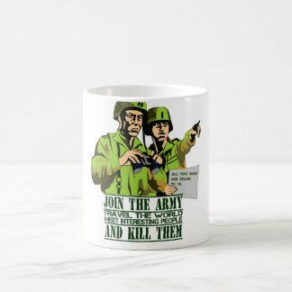 Humorous Army themed Mug