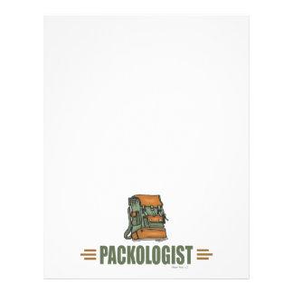 Humorous Backpacking Flyer Design