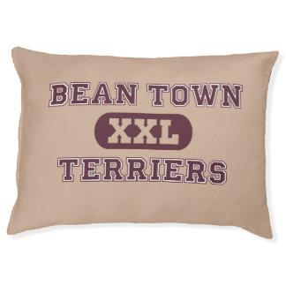 Humorous Boston Terrier Sports Team Pet Bed