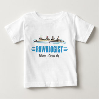 Humorous Rowing Baby T-Shirt