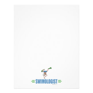 Humorous Swimming Personalized Flyer